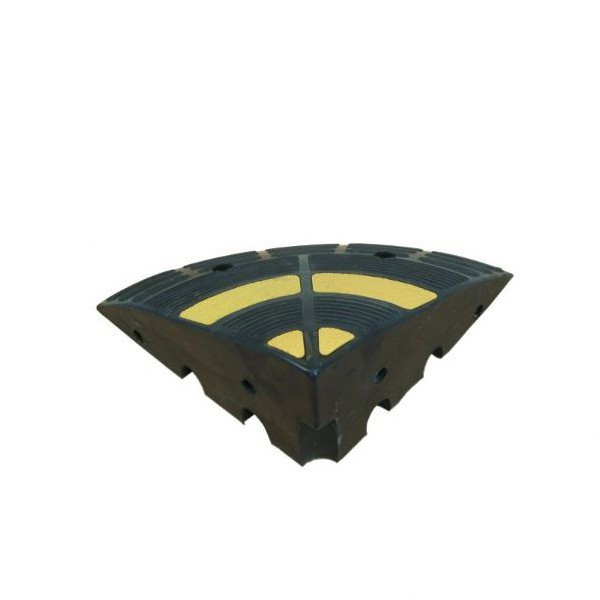 Angle pour rampe d'accès H.200mm
