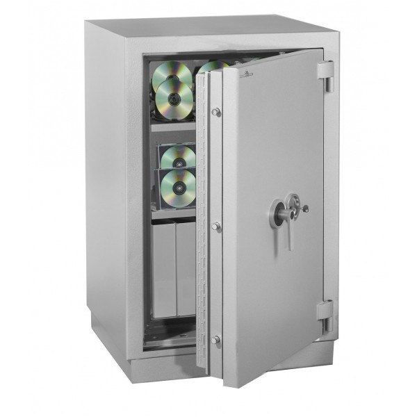 Armoire Forte ignifuge magnétique MEDIA DUO 175 Litres