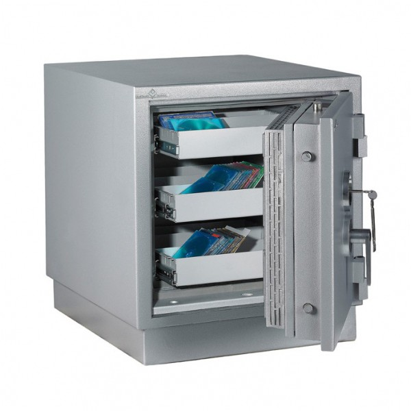 Armoire forte ignifuge magnétique MEDIA PROTECT 79
