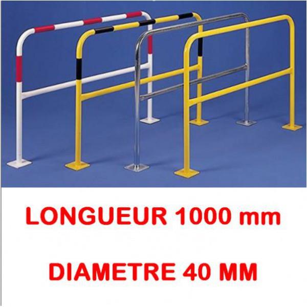 Barrière à platine longueur 1000 diametre 40 mm