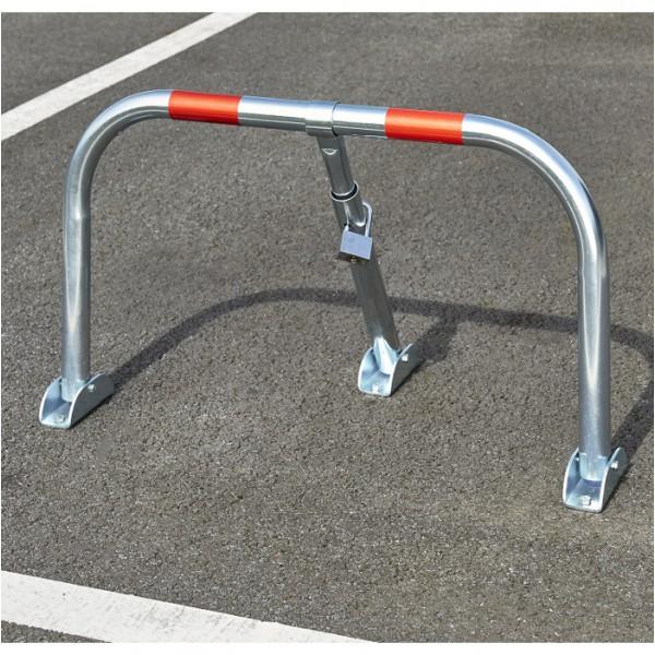 Barrière de parking à cadenas livré