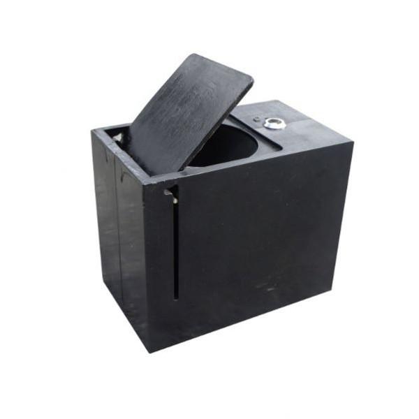 Base à sceller pour poteau H800mm
