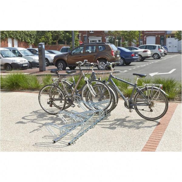 Support à vélo professionnel face à face