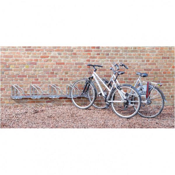 Râtelier mural 5 vélos en angle
