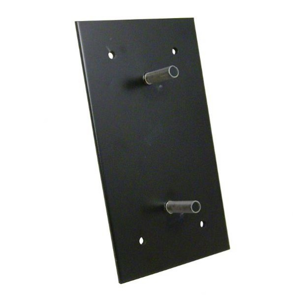 Platine de fixation pour butée 500 x 250 x 105 mm