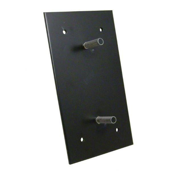 Platine de fixation pour butée 490 x 260 x 105 mm