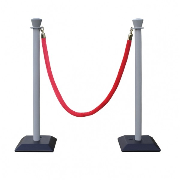 Kit 2 poteaux monobloc et corde