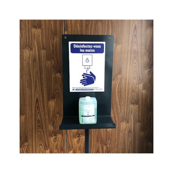 Support pour distributeur de gel