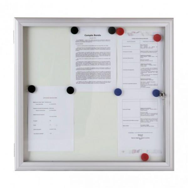 Vitrine fine d'extérieur vitre sécurit 4 mm
