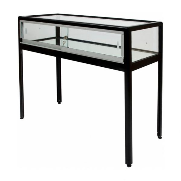 Vitrine table pour exposition