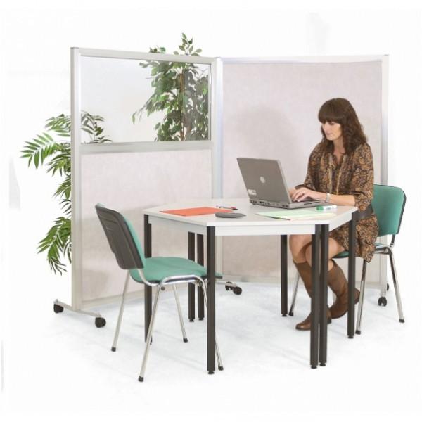 Cloison de bureau pleine hauteur 1800 mm