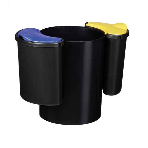 Corbeille pour tri sélectif modulable 25 litres - Modultri