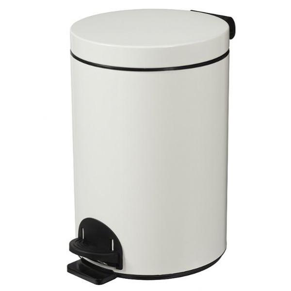 Poubelle métal à pédale - 14 litres