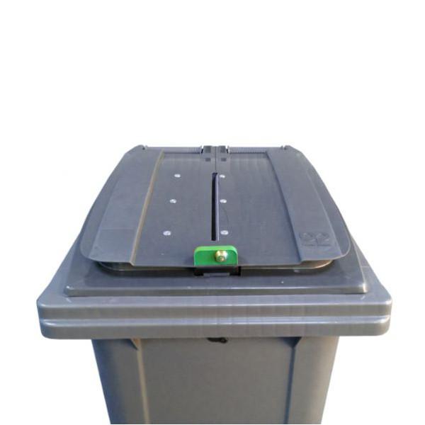 Conteneur poubelle pour papiers confidentiels - 120 litres