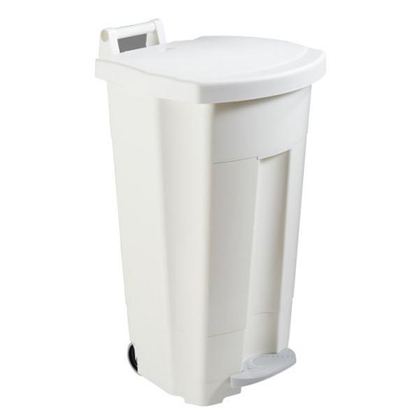 Poubelle mobile à pédale 90 litres