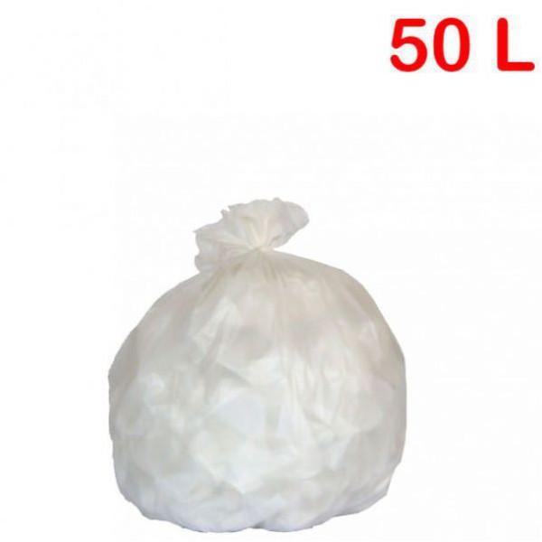 Sac poubelle - déchets légers pour sanitaire 50L