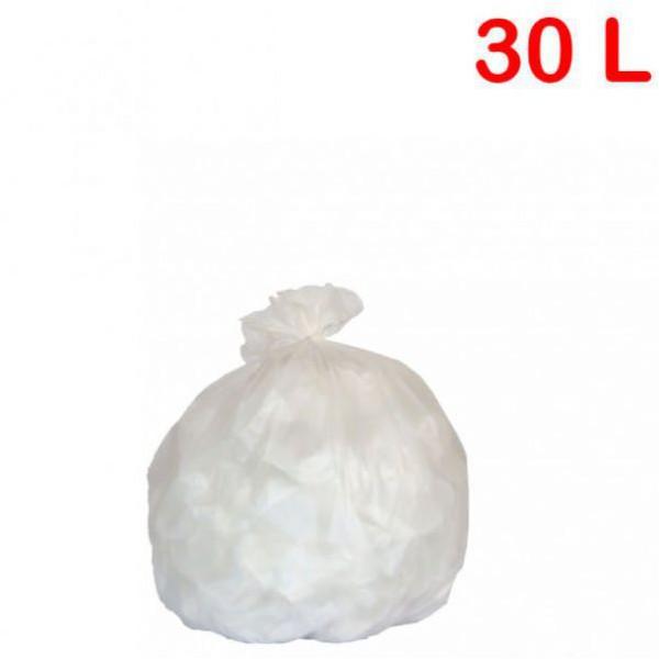 Sac poubelle - déchets légers pour sanitaire 30L