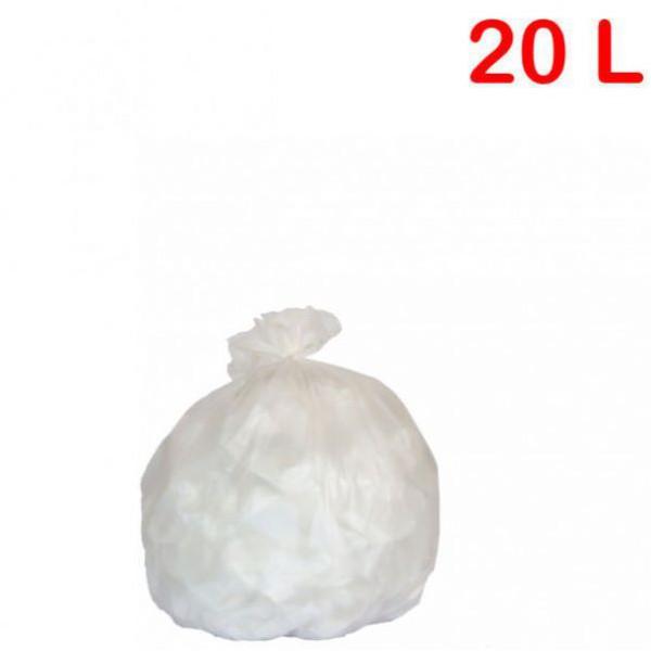Sac poubelle - déchets légers pour sanitaire 20L