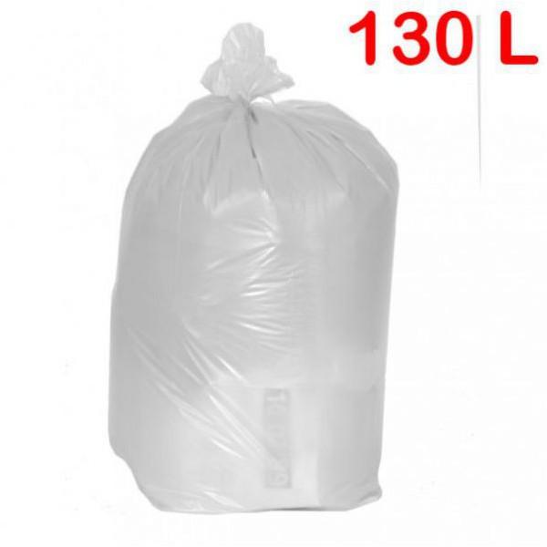 Sac poubelle pour sanitaire à déchets standards 130L