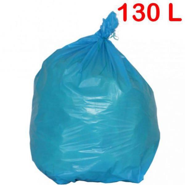Sac poubelle de couleur à déchets standards 130L