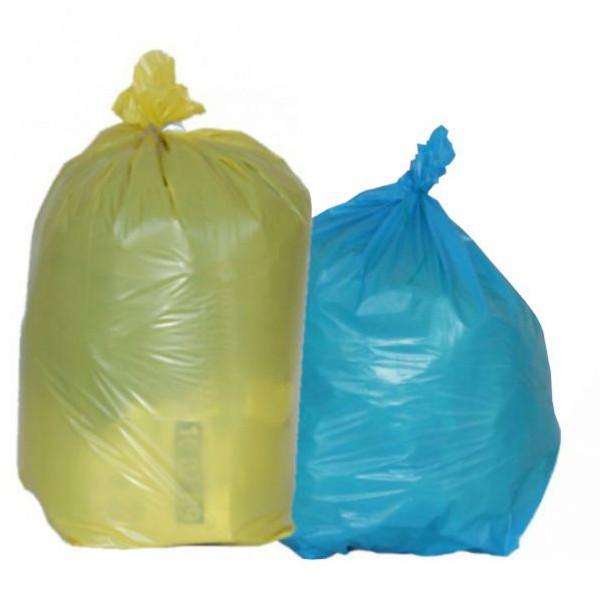 Sac poubelle de couleur à déchets standards 100 litres