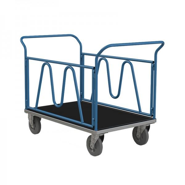 Chariots 2 ridelles - 2 dossiers nus - 300 kg
