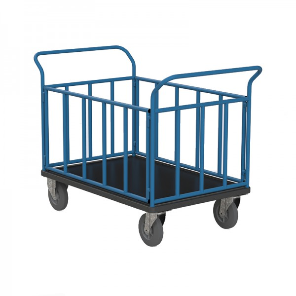 Chariots 4 côtés tubulaires - 300 kg