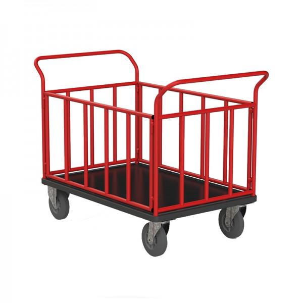 Chariots 4 côtés tubulaires - 500 kg
