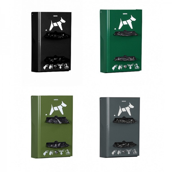Distributeur hygiène canine sacs rouleaux
