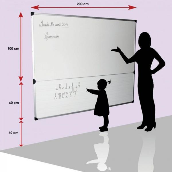 Mur d'écriture maternelle