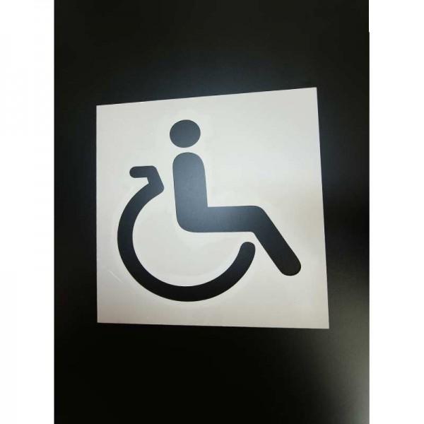 Pochoir Place personne mobilité réduite (PMR)