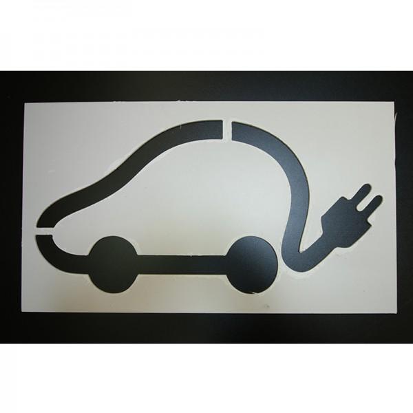 Pochoirs pour voiture électrique