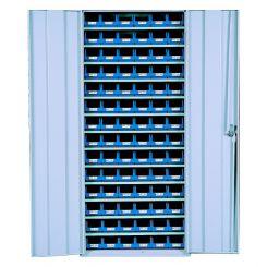Armoire 2 portes avec bacs 1L