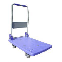 Chariot pliant à dossier rabattable - 150kg