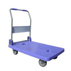 Chariot pliant à dossier rabattable - 300kg