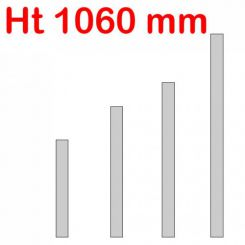Jeu de 4 réhausses Jumbo | ht 1060 mm