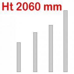 Jeu de 4 réhausses Jumbo   h 2060