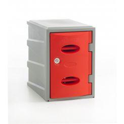 Vestiaire PE monobloc couleur  H 450 mm