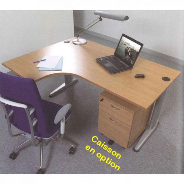 Bureau compact en bois achats de bureaux discount roll co - Bureau angle bois ...