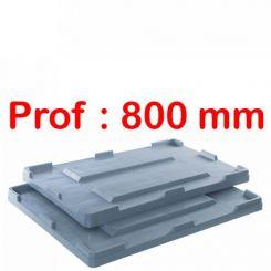 Couvercle | caisse palette | Big Box P 800 mm
