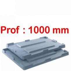 Couvercle | caisse palette | Big Box P 1000 mm