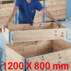 Rehausse pour   Palettes en bois   P 800 mm