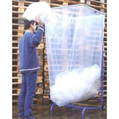 Sacs poubelles transparents pour support