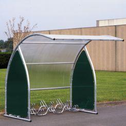 Abri à vélos extensible pour 6 vélos - motos - scooters
