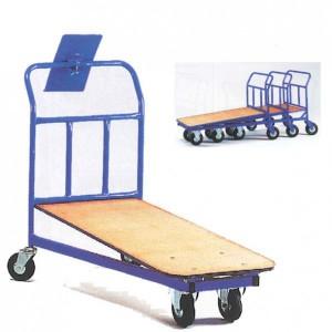 Chariot emboîtable avec tablette