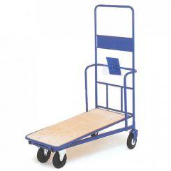Chariot emboitable avec rehausse et tablette