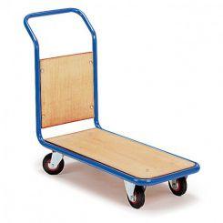 Chariot de manutention 1 dossier bois - 350 kg