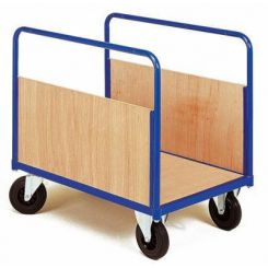 Chariot 2 ridelles amovibles en bois - 1240 x 760 mm