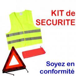 Kit de sécurité routière | triangle et gilet