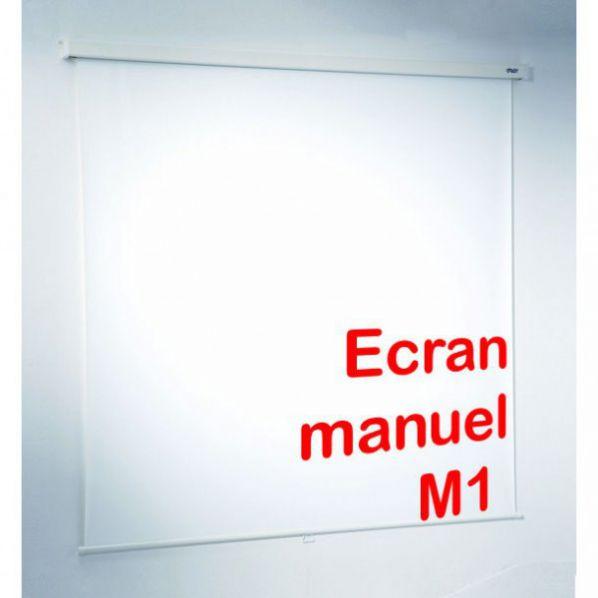 Ecran de projection manuel roll for Ecran de projection mural manuel